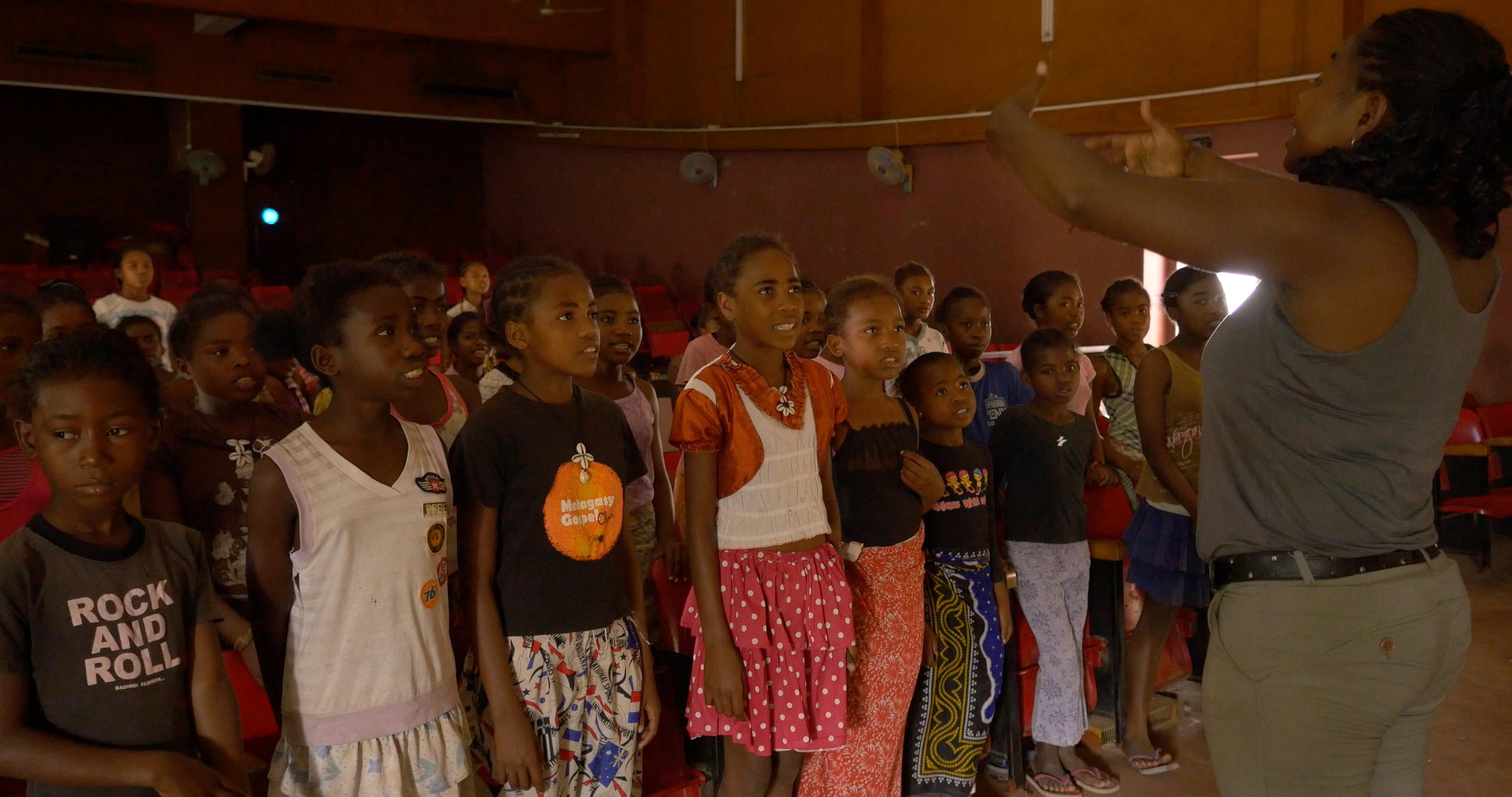 Malagasy Gospel en répétition