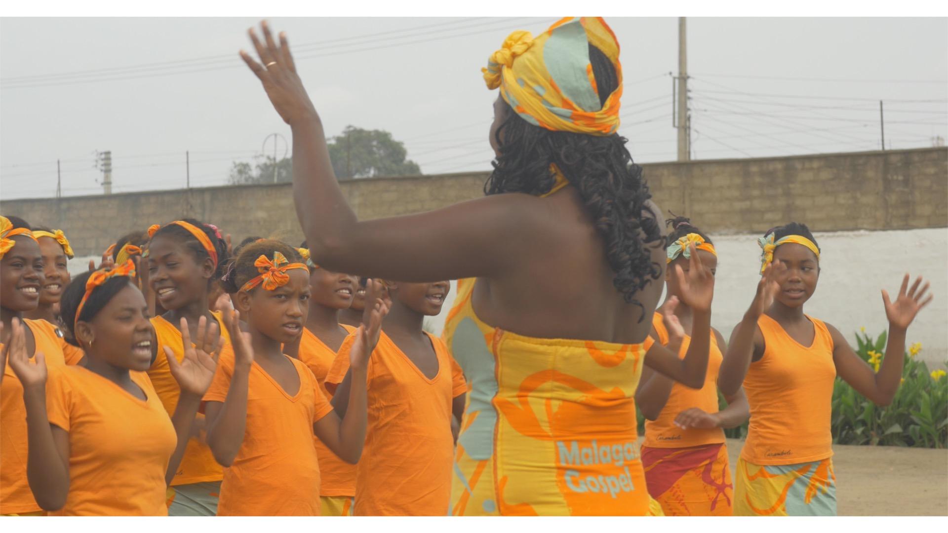 Concert Malagasy Gospel à la prison de Tuléar